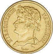 20 Franken - Jérôme Bonaparte – obverse