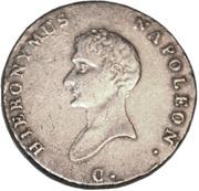 ⅔ Thaler - Jérôme Bonaparte – obverse