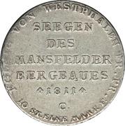 1 Thaler - Jérôme Bonaparte (Mining thaler) – reverse