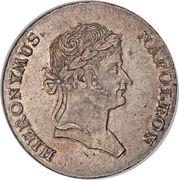1 Thaler - Jérôme Bonaparte – obverse