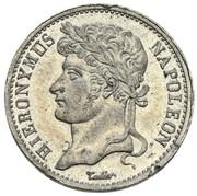 20 Franken - Jérôme Bonaparte (Tin pattern) – obverse