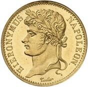 20 Franken - Jérôme Bonaparte (Restrike) – obverse