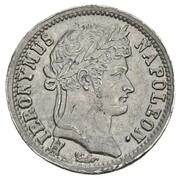 1 Frank - Jérôme Bonaparte (Lead pattern) – obverse
