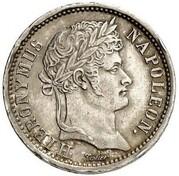 1 Frank - Jérôme Bonaparte – obverse