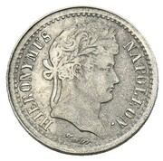 ½ Frank - Jérôme Bonaparte (Nickel pattern) – obverse