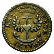 Jeton - Coronation of Napoleon I (Westphalia) – reverse