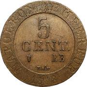 5 Centimes - Napoleon I – reverse