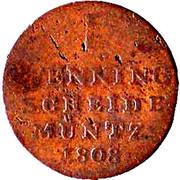 1 Pfennig - Jérôme Bonaparte – reverse