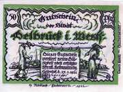 50 Pfennig (Delbrück) – obverse