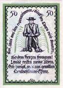 50 Pfennig (Delbrück) – reverse