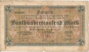 500,000 Mark (Recklinghausen, Buer) – obverse