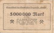 5,000,000 Mark (Herten; Gewerkschaft des Steinkohlen-Bergwerks Ewald) – reverse