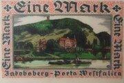 1 Mark (Hausberge; Amts-Sparkasse) – reverse