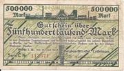 500,000 Mark (Gerthe; Bergbau-Aktien-Gesellschaft Lothringen) – obverse