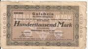 100,000 Mark (Königssteele) – obverse