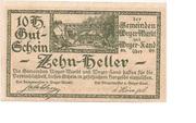 10 Heller (Weyer) -  obverse