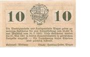 10 Heller (Weyer) -  reverse