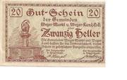 20 Heller (Weyer) – obverse