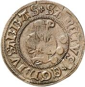 3 Pfennig (Präsenzzeichen; Countermarked) – reverse