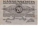 20 Heller (Wien) -  obverse