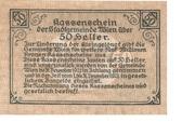 50 Heller (Wien) -  reverse