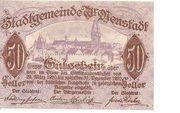 50 Heller (Wiener-Neustadt) – obverse
