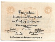50 Heller (Wiener Neustadt) – obverse