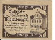 10 Heller (Wieselburg) – obverse