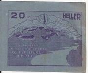 20 Heller (Wieselburg) – obverse