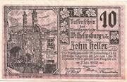 10 Heller (Wilhelmsburg) – obverse