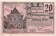 20 Heller (Wilhelmsburg) – obverse