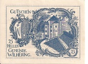 25 Heller (Wilhering) -  obverse