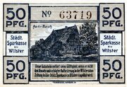 50 Pfennig (Sparkasse) – reverse