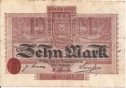 10 Mark (Sparkasse) – obverse