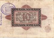 10 Mark (Sparkasse) – reverse