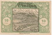 10 Heller (Windhag bei Waidhofen an der Ybbs) -  obverse