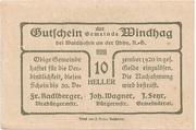 10 Heller (Windhag bei Waidhofen an der Ybbs) -  reverse