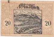 20 Heller (Windhag bei Waidhofen an der Ybbs) – obverse
