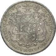 1 Thaler - Leopold Victor Johann – reverse