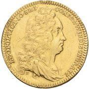 1 Ducat - Leopold Victor Johann – obverse