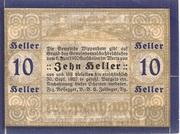 10 Heller (Wippenham) – reverse