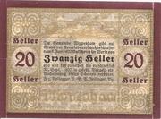 20 Heller (Wippenham) – reverse