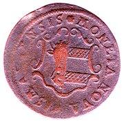 3 Pfennig - Adolph Fredrik (Swedish Occupation) – obverse
