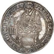 1 Thaler (Treaty of Pahrenholz) – reverse