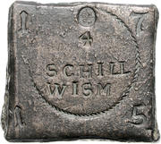 4 Schilling (Siege coinage) – obverse