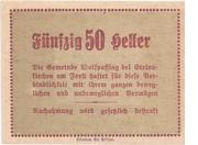 50 Heller (Wolfpassing) -  reverse