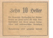10 Heller (Wolfpassing) – reverse