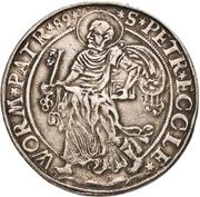 2 Thaler - Georg von Schönenberg (Neu-Leiningen) -  reverse