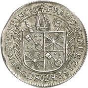 1/12 Thaler - Franz Emmerich Waldbott von Bassenheim – obverse