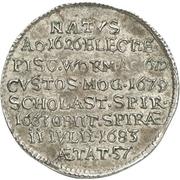 1/12 Thaler - Franz Emmerich Waldbott von Bassenheim – reverse